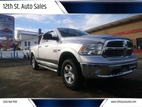 2013 RAM Ram Pickup 1500 Outdoorsman for sale at 12th St. Auto Sales in Canton OH