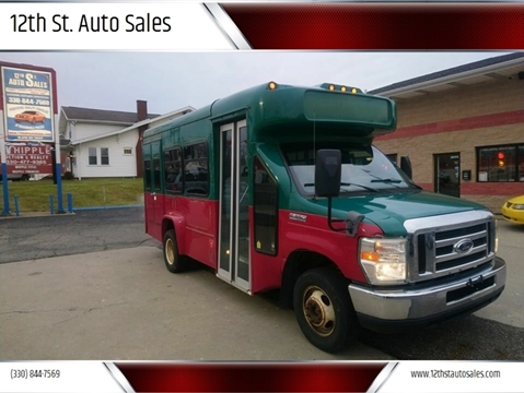 2008 Ford E-Series Chassis E-350 SD for sale at 12th St. Auto Sales in Canton OH