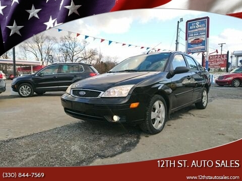 2007 Ford Focus ZX4 SES for sale at 12th St. Auto Sales in Canton OH