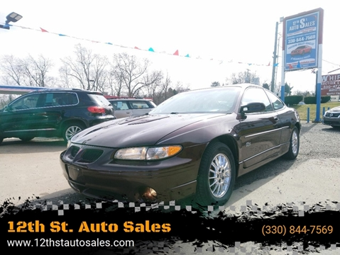 2002 Pontiac Grand Prix GT for sale at 12th St. Auto Sales in Canton OH