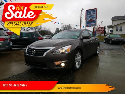 2015 Nissan Altima 2.5 SV for sale at 12th St. Auto Sales in Canton OH