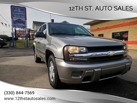 2003 Chevrolet TrailBlazer EXT LS for sale at 12th St. Auto Sales in Canton OH