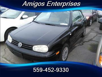 2001 Volkswagen Cabrio for sale in Fresno, CA