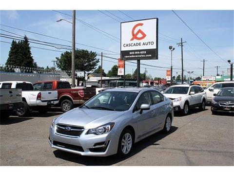 2016 Subaru Impreza for sale in Portland, OR
