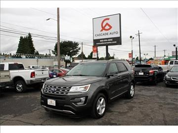 2016 Ford Explorer for sale in Portland, OR