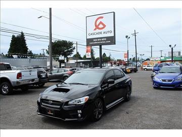 2016 Subaru WRX for sale in Portland, OR