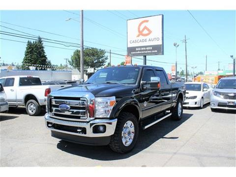 2015 Ford F-250 Super Duty for sale in Portland, OR