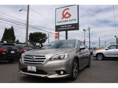 2015 Subaru Legacy for sale in Portland, OR