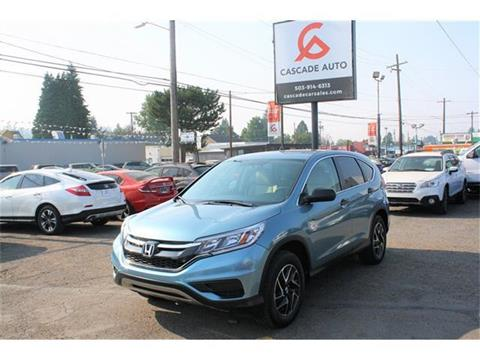 2016 Honda CR-V for sale in Portland, OR