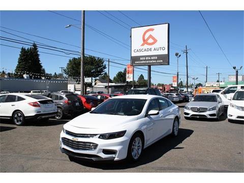 2016 Chevrolet Malibu for sale in Portland, OR