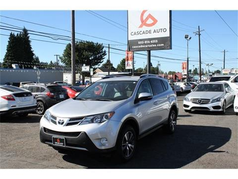 2014 Toyota RAV4 for sale in Portland, OR