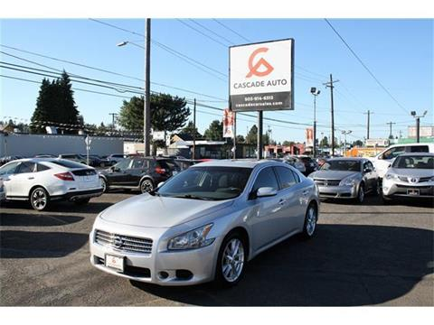 2011 Nissan Maxima for sale in Portland, OR