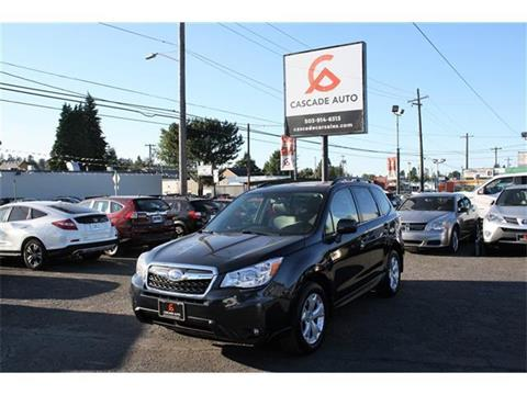 2014 Subaru Forester for sale in Portland, OR