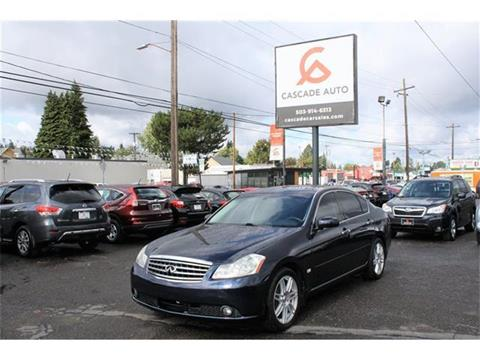 2007 Infiniti M35 for sale in Portland, OR