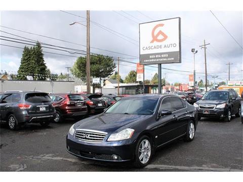 2007 Infiniti M35 for sale in Portland, OR
