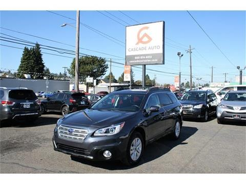 2015 Subaru Outback for sale in Portland, OR