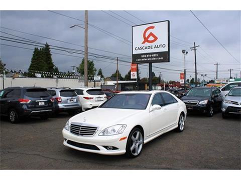 2009 Mercedes-Benz S-Class for sale in Portland, OR