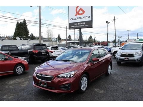 2017 Subaru Impreza for sale in Portland, OR