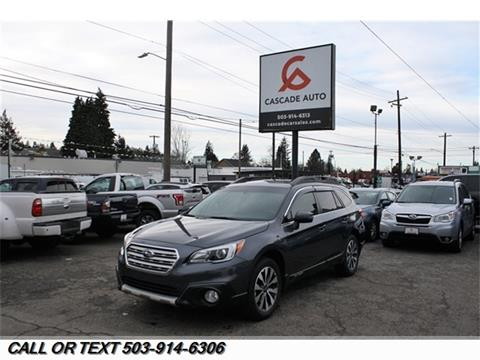 Used Car Dealerships In Jackson Ms >> 2015 Subaru Outback For Sale In Portland Or