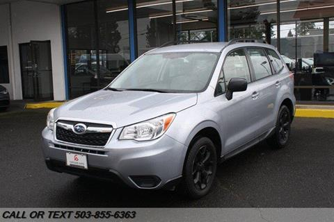 2015 Subaru Forester for sale in Portland, OR