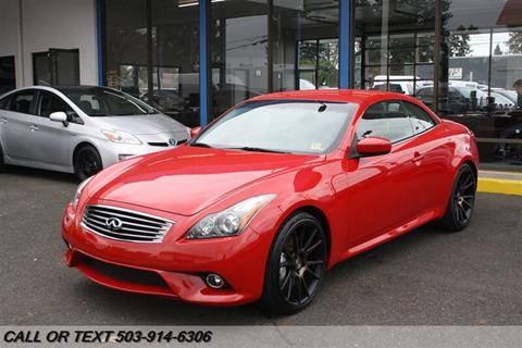 2012 Infiniti G37 Convertible for sale in Portland, OR