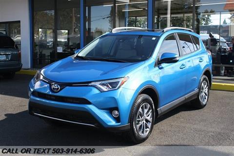 2017 Toyota RAV4 Hybrid for sale in Portland, OR