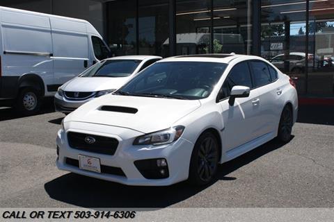 Used Subaru Wrx For Sale >> Used Subaru Wrx For Sale In Oregon Carsforsale Com