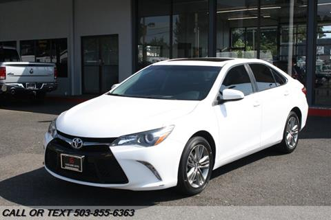 2017 Toyota Camry for sale in Portland, OR