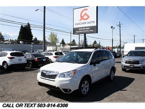 2016 Subaru Forester for sale in Portland, OR