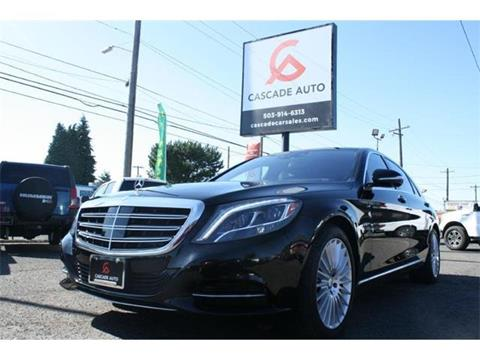 2015 Mercedes-Benz S-Class for sale in Portland, OR
