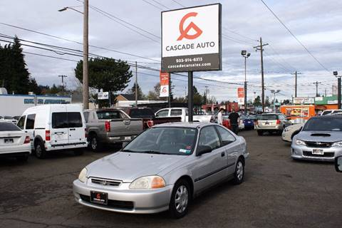 1998 Honda Civic for sale in Portland, OR