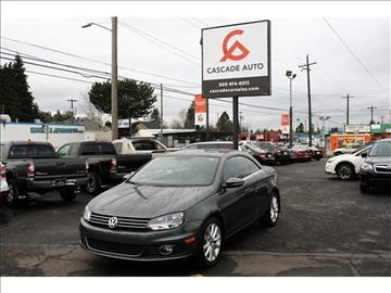 2015 Volkswagen Eos for sale in Portland, OR