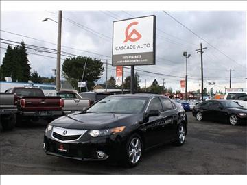 2012 Acura TSX for sale in Portland, OR