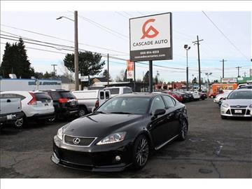 2011 Lexus IS F for sale in Portland, OR