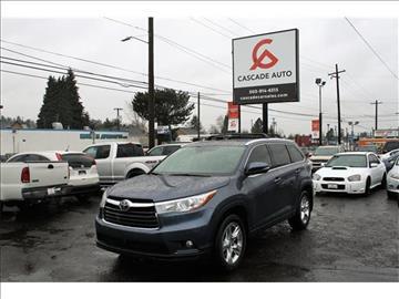2015 Toyota Highlander for sale in Portland, OR