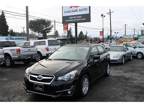 2015 Subaru Impreza for sale in Portland, OR