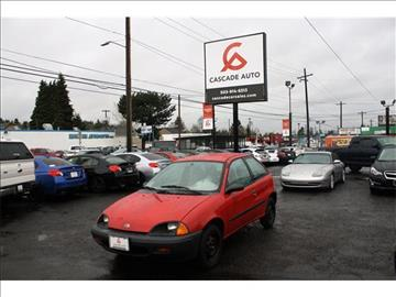 1997 GEO Metro for sale in Portland, OR