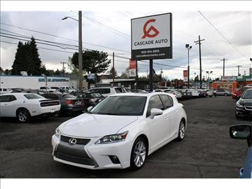 2017 Lexus CT 200h for sale in Portland, OR