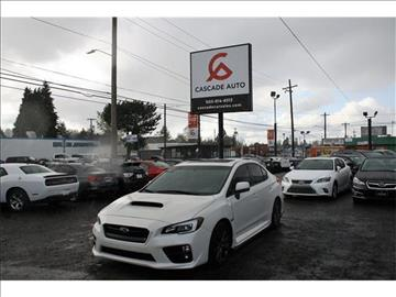 2015 Subaru WRX for sale in Portland, OR