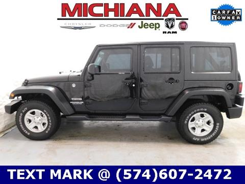 2016 Jeep Wrangler Unlimited for sale in Mishawaka, IN