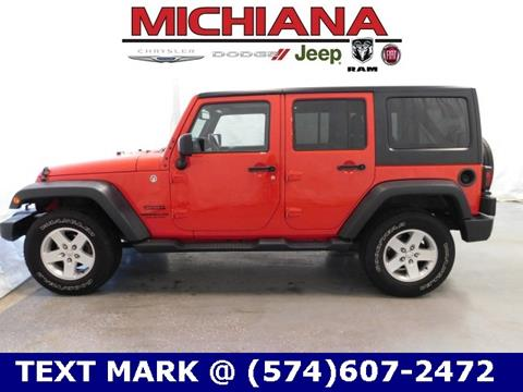 2015 Jeep Wrangler Unlimited for sale in Mishawaka, IN