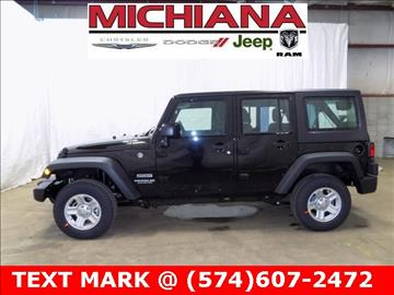 2017 Jeep Wrangler Unlimited for sale in Mishawaka, IN