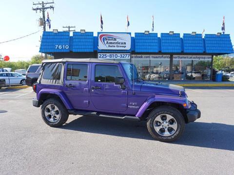 2017 Jeep Wrangler Unlimited for sale in Baton Rouge, LA