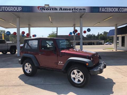 2008 Jeep Wrangler for sale in Baton Rouge, LA