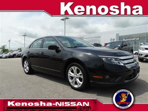 2012 Ford Fusion for sale in Kenosha, WI