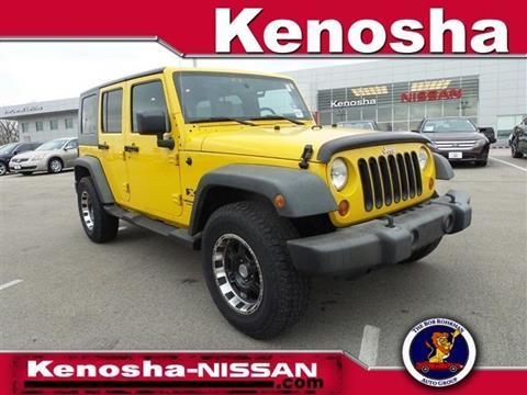 2008 Jeep Wrangler Unlimited for sale in Kenosha, WI