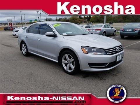 2014 Volkswagen Passat for sale in Kenosha, WI