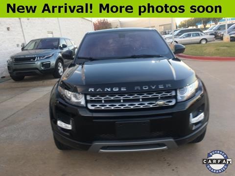 2014 Land Rover Range Rover Evoque for sale in Oklahoma City, OK