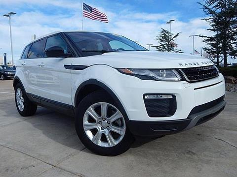 2017 Land Rover Range Rover Evoque for sale in Oklahoma City, OK