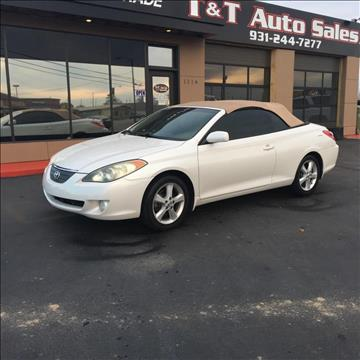 2006 Toyota Camry Solara for sale in Lawrenceburg, TN